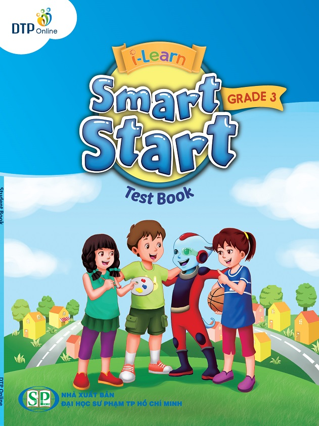 Cover i-Learn SS Grade 3-Test Book (Blue)S